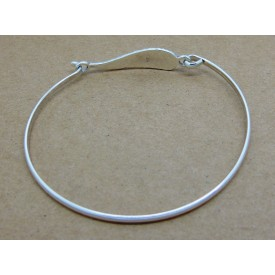 Sterling Silver Angel Wing Bangle
