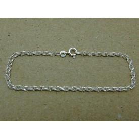 Sterling Silver Prince Of Wales Bracelet