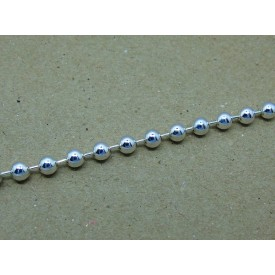Sterling Silver 5mm Bead Bracelet