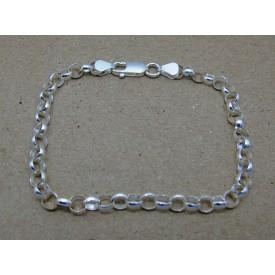 Sterling Silver Gents Belcher Bracelet