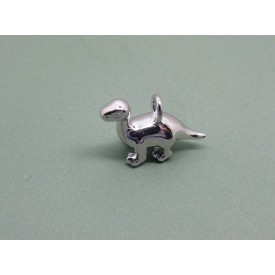 Sterling Silver Diplodocus Charm