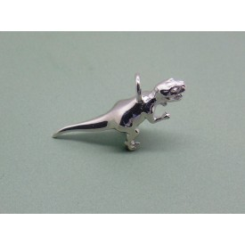 Sterling Silver T-Rex Charm