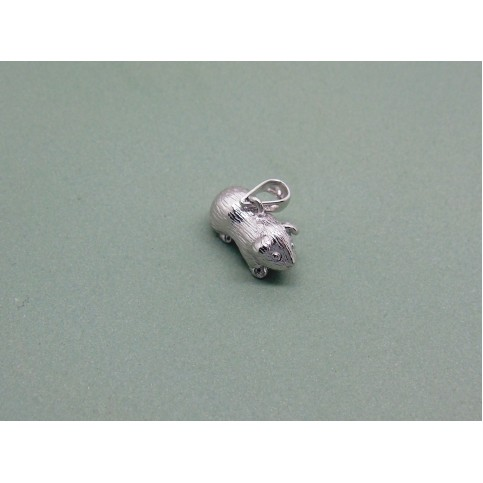 Sterling Silver Guinea Pig Charm
