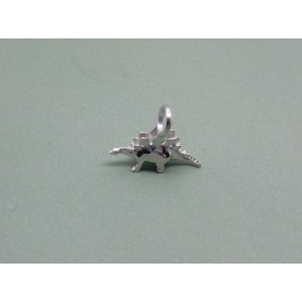 Sterling Silver Baby Stegosaurus Charm