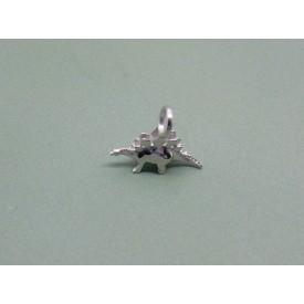 Sterling Silver Baby Stegosaurus Charm