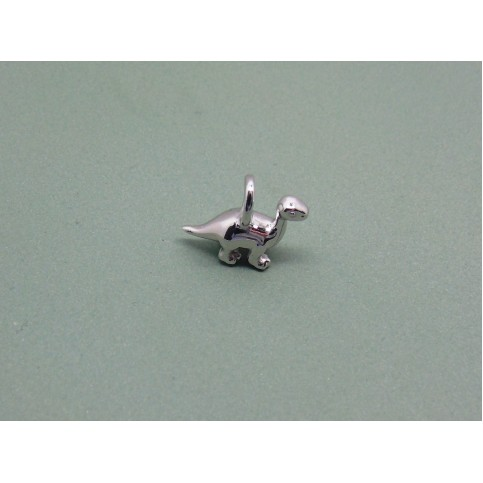 Sterling Silver Baby Diplodocus Charm