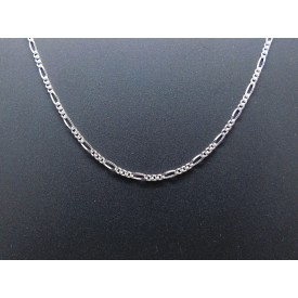Sterling Silver Light Weight Figaro Chain