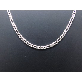 Sterling Silver Medium Weight Figaro Chain