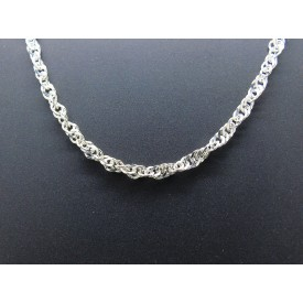 Sterling Silver Heavy Singapore Chain