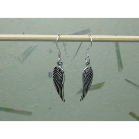 Sterling Silver Angel Wing Drops