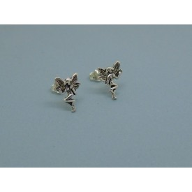 Sterling Silver Fairy Studs