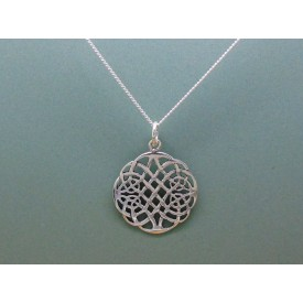 Sterling Silver Celtic Circular Pendant