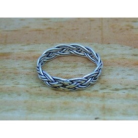 Sterling Silver Celtic Weave Ring