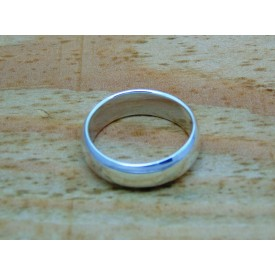 Sterling Silver Heavy Weight Plain Ring