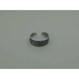 Decorative Sterling Silver Toe Ring